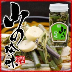 国産 山の珍味 瓶 味付山菜ミックス そば うどん 具 炊き込みご飯 hida-yama-sachi