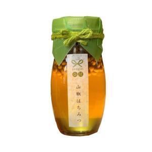 山椒はちみつ 飛騨産山椒 国産蜂蜜 asagiriひだ|hida-yama-sachi