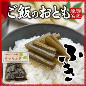 山菜 佃煮 きゃらぶき 100g ご飯のお供 国産 hida-yama-sachi