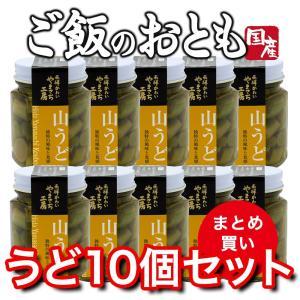 山菜 山うど醤油漬 10個 ご飯のお供 国産|hida-yama-sachi