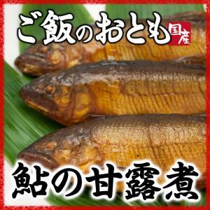 鮎の甘露煮 ご飯のおかず 柔らかく骨まで食べ食べられます|hida-yama-sachi