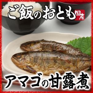 あまごの甘露煮 ご飯のおかず 柔らかく骨まで食べ食べられます|hida-yama-sachi