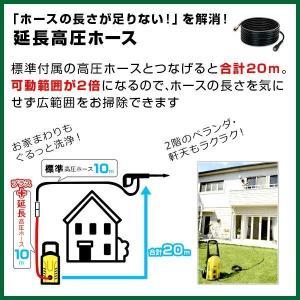 ポイント6倍 高圧洗浄機 家庭用 ヒダカ HK-1890 洗車セット カーシャンプー・クロス付き レビュープレゼント対象|hidakashop|10