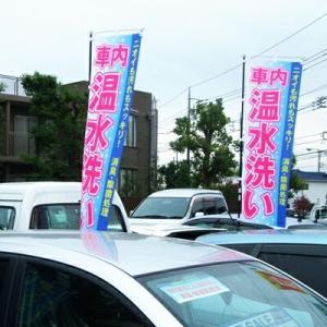 蔵王産業 業務用 スーパースチームクリーナー用 のぼり 「車内温水洗い」 同柄5枚セット|hidakashop