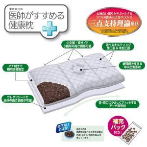 東京西川 医師がすすめる健康枕 もっと首楽寝 ブルー(高〜中)/クリーム(低〜中) EI9402|hidatakayama-store