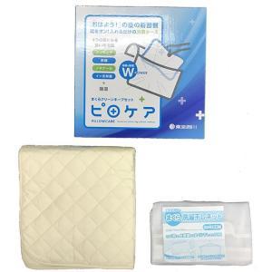 東京西川 ピロケア まくら専用消臭ケース お洗濯ネット付き ハンガー干し可能 EJ97359001|hidatakayama-store