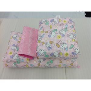 西川 お昼寝布団 7点 セット キティ ピンク LF56586071|hidatakayama-store
