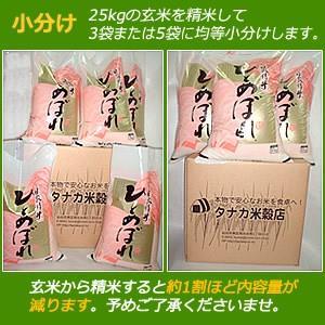 宮城県産検査1等米 ひとめぼれ 玄米 25kg|hidehiro|02