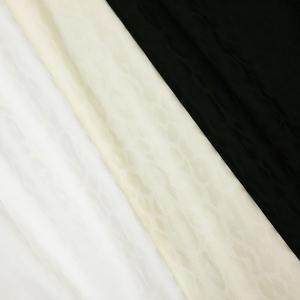 日本製 コットンストレッチ 豹柄ジャガード 3色 C[オーダーカット生地 10cm単位]