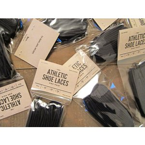 This is... ディスイズ... ATHLETIC SHOE LACES シューレース スニーカー 靴ヒモ 45inch_black|hidingplace