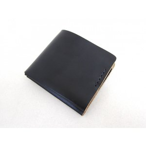 This is... ディスイズ... Horween Chromexel Leather Wallet ホーウィン社クロムエクセルレザーウォレット 二つ折り財布_BLACK|hidingplace