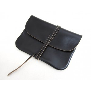 This is... ディスイズ... Horween Chromexel Leather Pouch L ホーウィン社クロムエクセルレザーポーチ クラッチバッグ_BLACK|hidingplace