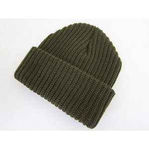 NEW YORK HAT CHUNKY CUFF ニューヨークハット チャンキーカフ ニットキャップ_OLIVE|hidingplace