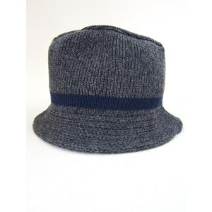 BRONER ブローナー Crasher Hat クラッシャーハット MADE IN U.S.A. DEADSTOCK_CHARCOAL|hidingplace