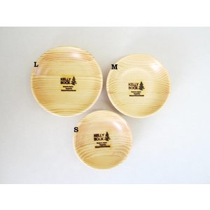 KELLY BOCK ケリーボック 木製ボウルM 木皿 ウッドボウル 松(宮城県産)|hidingplace