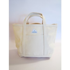 Landscapes ランドスケープス Regular Tote(M)  レギュラートートバッグM Non-Washed_ECRU|hidingplace