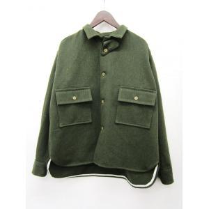 TATAMIZE タタミゼ CPO シャツ ジャケット_OLIVE|hidingplace