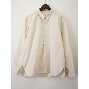 TATAMIZE タタミゼ P/O SHIRT RELAX プルオーバーシャツ リラックス_OFF WHITE|hidingplace