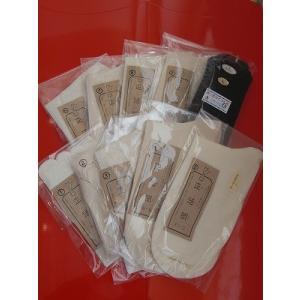 正活絹・冷えとり重ね履き靴下10枚セット(2枚目ウール/Lサイズ)+おまけで綿5本指靴下|hietori-ebisu