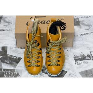Fracap フラカップ マグニフィコ M120 ブーツ 靴 シューズ キャメルレザー|higashinishi
