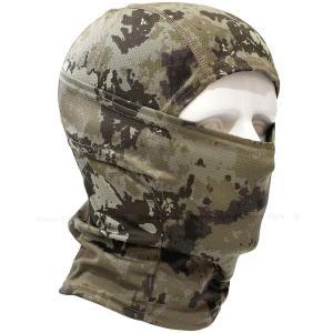 4Way バラクラバ アーミー 迷彩 目だし帽 ・タクティカル フェイスマスク / ミリタリー カモフラージュ ヘッドウェア higashiya