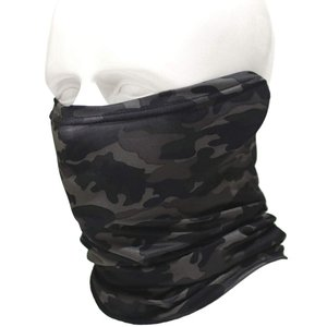 多機能 迷彩 フェイスマスク フェイスガード ネックウォーマー フェイスマスク ターバン ニット 帽子 フェイス ヘッド ウェア higashiya