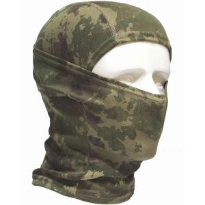 5Way バラクラバ アーミー 迷彩 目だし帽 ・タクティカル フェイスマスク / ミリタリー カモフラージュ ヘッドウェア|higashiya