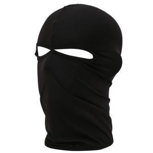バラクラバ フェイスマスク 目出し帽 薄い・サバイバルゲーム・自転車・BMX・バイク・アウトドア 〜 日焼け止め+防曇+吸汗速乾+UVカット|higashiya