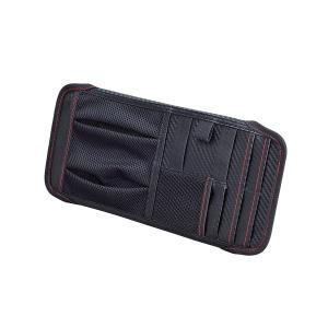車用 サンバイザーポケット F カーボン ブラック