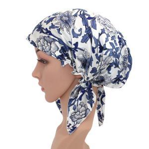 可愛いナイトキャップ シルクキャップ切れ毛予防 保湿 お休みキャップ シルク100% 産後用キャップ妊婦キャップ   (2)|higashiya
