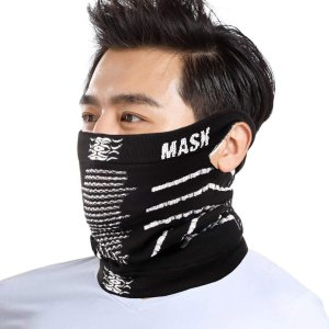 フェイスマスク 防寒 メンズ ネックウォーマー フェイス マスク スノーボード バイク用品 冬 ニット帽 スキーウェア キャップ face mask スキー フェイスガード|higashiya