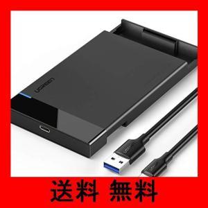 UGREEN 2.5インチ HDDケース SATA USB C 3.1 Gen 2 接続 外付け S...
