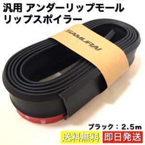 リップスポイラー 汎用アンダーリップモール  様々な場所に使用可能なマルチスポイラーです。 バンパー...