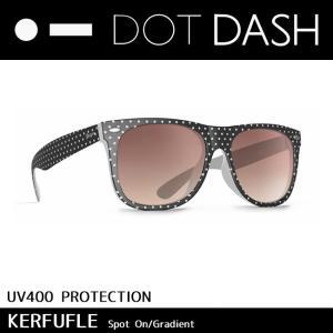 DOT DASH ドットダッシュ サングラス UVカット トイ サングラス KERFUFFLE Spot On Gradient ae217d06-bwh|highball