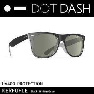 DOT DASH ドットダッシュ サングラス UVカット トイ サングラス KERFUFFLE Black White Grey ae217d06-bwt|highball