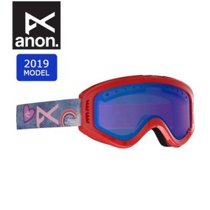 2019 anon アノン ASIAN FIT TRACKER GIRL POWER/BLUE AMBR 18526101624 【ゴーグル/日本正規品/アジアンフィット/キッズ/ジュニア】|highball