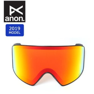 2019 anon アノン M4 CYL SONAR LENS SONAR RED 20449100611 【スペアレンズ/ゴーグル/日本正規品/メンズ】|highball