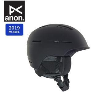2019 anon アノン INVERT ASIA BLACK 20604100001 【ヘルメット/日本正規品/メンズ】|highball