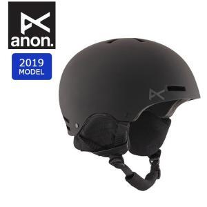 2019 anon アノン RAIDER BLACK 13276100001 【ヘルメット/日本正規品/メンズ】|highball