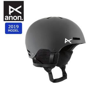 2019 anon アノン RIME BLACK 13282100001 【ヘルメット/日本正規品/キッズ/ジュニア】|highball