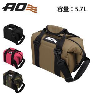 AO Coolers エーオー クーラーズ 6パック キャンバス ソフトクーラー AO6BK/AO6RD 【クーラーボックス/トートバッグ】|highball