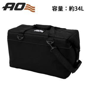 AO Coolers エーオー クーラーズ 36パック キャンバス ソフトクーラー AO36BK 【クーラーボックス/クーラーバッグ/アウトドア/キャンプ/保冷/トートバッグ】|highball