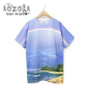 AOZORA アオゾラ FRUIT OF THE LOOM×AOZORA SUPER PREMIUM TEE 715301 【フルーツオブザルーム/メンズ/Tシャツ/アウトドア】|highball