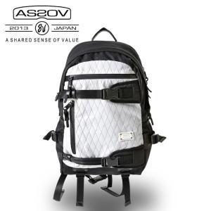 アッソブ AS2OV デイパックX-PAC × CORDURA DOBBY 305D DAY BAG /061407-x-10 【カバン】日本正規品 highball