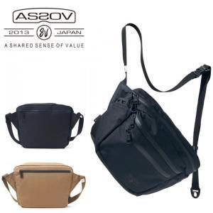 AS2OV/アッソブ ショルダーバッグ WATER PROOF CORDURA 305D SHOULDER 141606 【カバン】日本正規品 highball