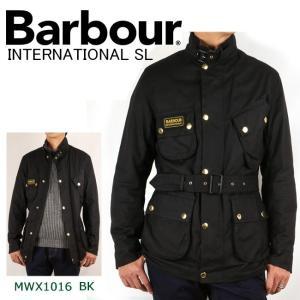 Barbour バブアー INTERNATIONAL SL インターナショナル スリムフィット MWX1016 【服】ジャケット ライディングジャケット|highball
