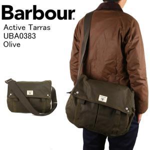 Barbour バブアー Active Tarras UBA0383 Olive 【カバン】ショルダーバック メッセンジャーバック|highball