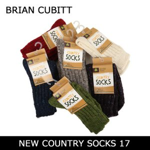 BRIAN CUBITT ブライアンキュービット ソックス NEW COUNTRY SOCKS 17 【雑貨】靴下 メンズ レディース アウトドア 厚手 highball