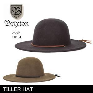 ブリクストン BRIXTON TILLER HAT /00104 【帽子】 ハット 帽子 HAT おしゃれ 秋冬|highball