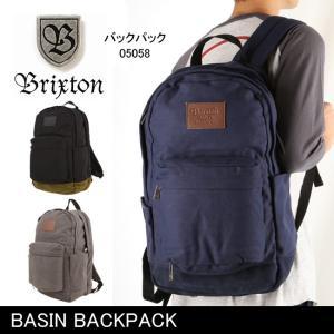 ブリクストン BRIXTON BASIN BACKPACK /05058 【カバン】 バックパック リュック 通学 通勤 デイリーユース|highball